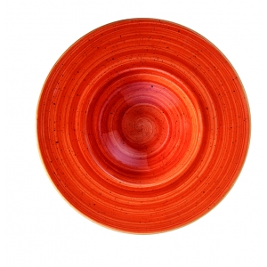 Тарелка для пасты d=280 мм. 400 мл. Терракота