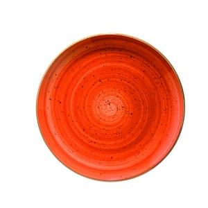 Тарелка мелкая d=230 мм. Терракота