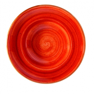 Тарелка для пасты d=300 мм. 550 мл. Терракота