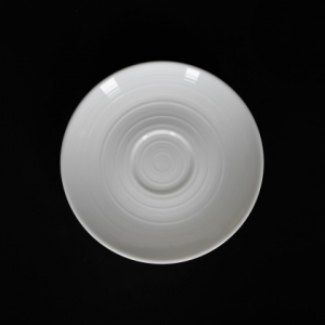 Блюдце к чашке кофейной фк9003 белое Corone Caffetteria