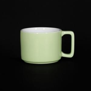 Кружка 290мл зеленая Corone Caffetteria