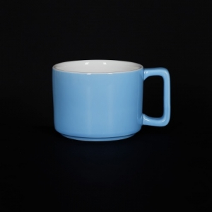 Кружка 290мл голубая Corone Caffetteria