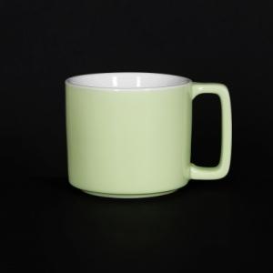 Кружка 360мл зеленая Corone Caffetteria