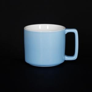 Кружка 360мл голубая Corone Caffetteria