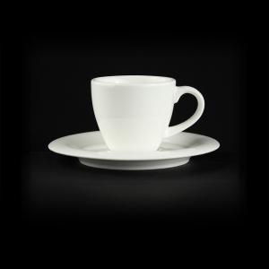 Кофейная пара 125мл 80мл с полями Sam&Sguitо Classic