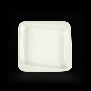 Тарелка глубокая квадратная 175х175мм Sam&Sguito Quadro