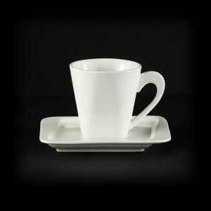Чайная пара 170мл 140мм Sam&Sguito Quadro