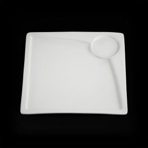 Блюдо квадратное 245х245мм для завтрака Sam&Sguito Quadro