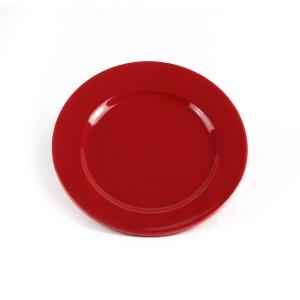 """Тарелка d=175мм. красная """"Thyme""""  /48/"""