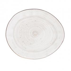 Тарелка овальная 270 мм White Fusion
