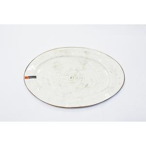 Блюдо овальное 320 мм White Fusion