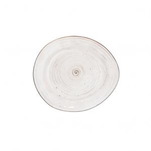Тарелка мелкая 175 мм White Fusion