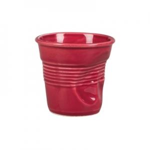 Чашка 90 мл. кофейная для эспрессо Мятая бордо Barista