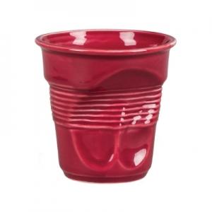 Чашка 225 мл. кофейная для капучино Мятая бордо Barista