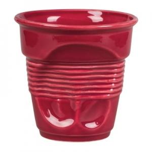 Чашка 400 мл. кофейная для латте Мятая бордо Barista