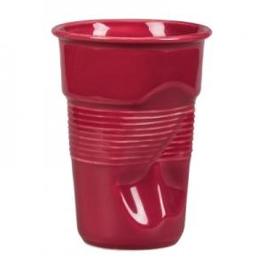 Чашка 290 мл. кофейная для латте Мятая бордо Barista