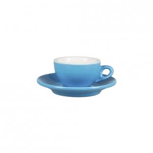 Кофейная пара 70 мл синяя Barista