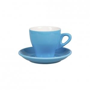 Кофейная пара 280 мл синяя Barista