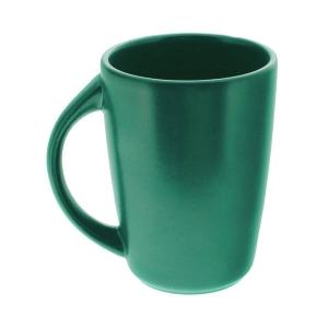 Бокал керам. 300мл с ручк. ELGAVA Colour Зеленый