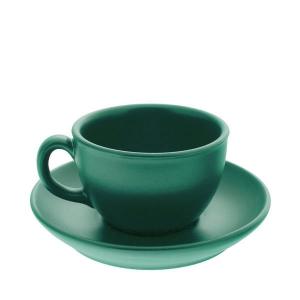 Чайная пара керам. 200мл ELGAVA Colour Зеленый
