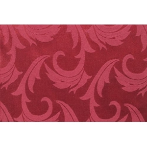 Салфетка 43*43 см. бордо перья (161005/1625)