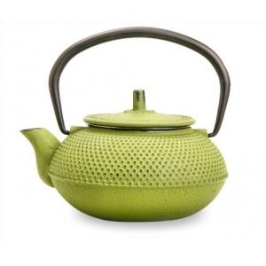 Чайник чугунный зеленый 550мл