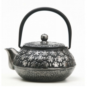 Чайник чугунный серебряный 650мл