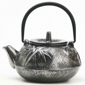 Чайник чугунный серебряный 800мл