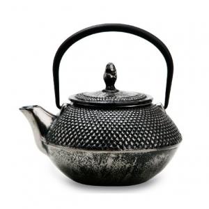 Чайник чугунный серебряный 450мл