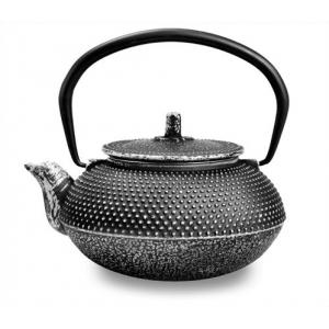 Чайник чугунный серебряный 550мл