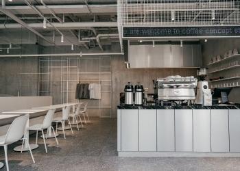 Rockets Coffee Roasters открыли мультифункциональное пространство с офисом, тренинг-центром, кофейней и магазином в центре Москвы
