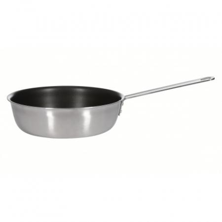 Сковорода d=280мм. нерж антиприг. покрытие, высокие борты h=75мм (индукция) Luxstah