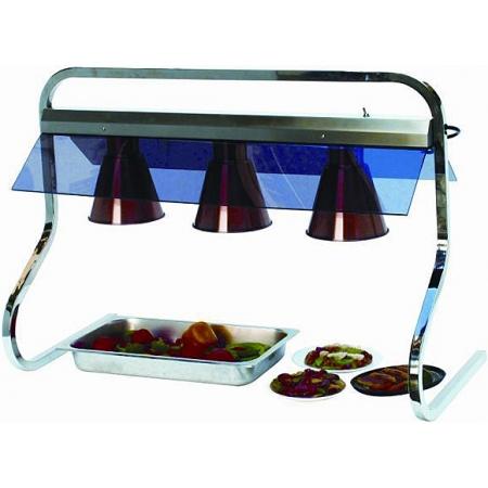 Мармит электрический буфетный, верхний подогрев с 3 инфракрасными лампами GASTRORAG FM-D01-3