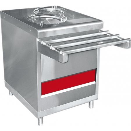 Прилавок для подогрева тарелок Аста ПТЭ-70КМ-80 630х1030х920 мм