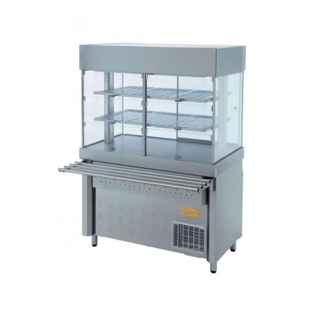 Прилавок-витрина холодильный Белла-Нева-2004 1200х1000х1800 мм
