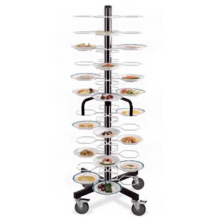 Тележка-шпилька MetalCarrelli на 48 тарелок (240 мм и 310 мм) 3013