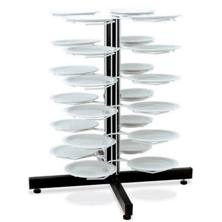 Держатель MetalCarrelli на 24 тарелки (240 мм и 310 мм) 3019
