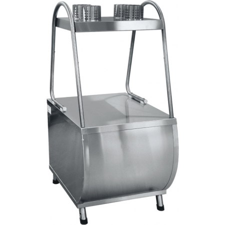 Прилавок для столовых приборов Патша ПСП-70М 630х790х1365 мм