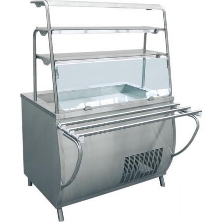 Прилавок-витрина холодильный Премьер ПВВ-70Т 1120х1025х1625 мм