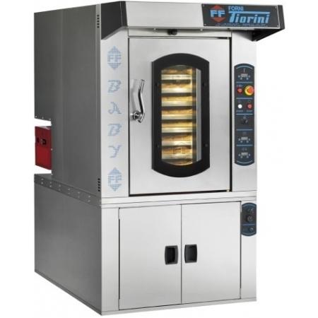 Печь ротационная электрическая Forni Fiorini BABY газ (крюк) 1100х1500х от 1270 до 1590 мм