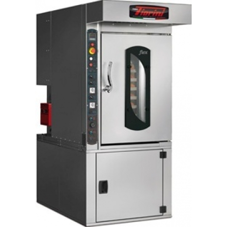 Печь ротационная электрическая Forni Fiorini FLEX газ (крюк) 1320х900х1330 до 1630 мм размер протв. 600х400 мм