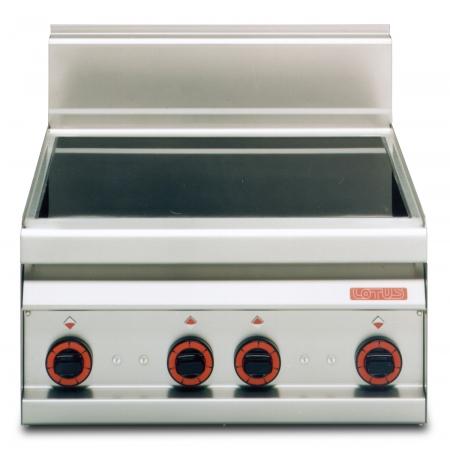 Плита электрическая 4-ре зоны нагрева LOTUS PCC-6ET без жар/шкафа 600х650х290 мм (серия 65) 380 В