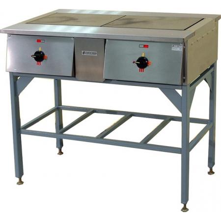 Плита электрическая 2-х конфорочная ТТТ ПЭ-0.24Н без жар/шкафа 950х545х850 мм