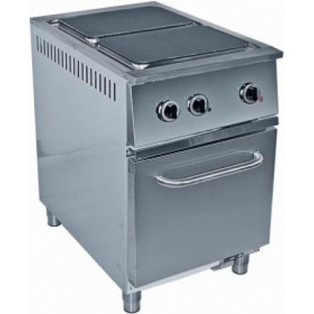 Плита электрическая 2-х конфорочная RADA ПЭС-2Ш с жар/шкафом 550×815×850 мм (серия 800)