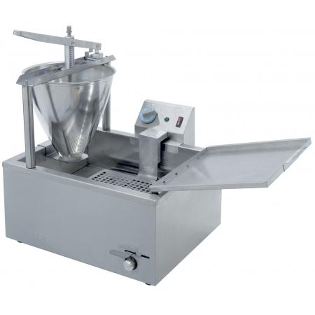 Пончиковый аппарат 16 л ATESY Гольфстрим-1/1М 455х395х560 мм