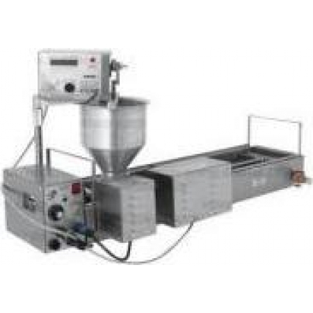 Пончиковый аппарат 16 л СИКОМ ПРФ-11/2400D с модерн. приводом доз. 1200х480х600 мм обьем фритюра