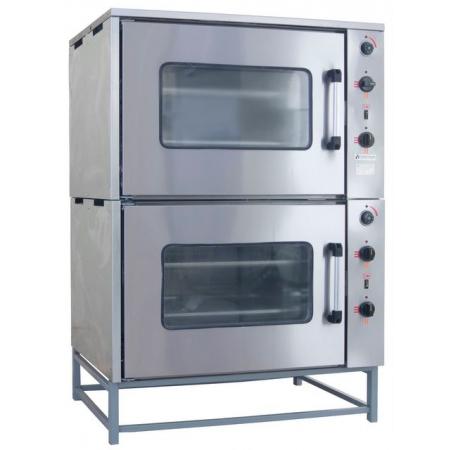 Шкаф жарочный ТТТ ШЖ-150 двухсекционный, 4 уровня GN 2/1, 950х830х1430 мм
